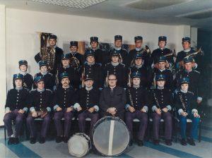 Aufnahme um 1976 im Institut Dr. Nuhr anlässlich eines Kurkonzertes.