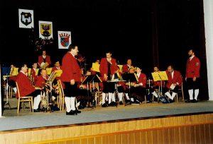 Konzert in der Partnerstadt Zamberk/Tschechische Republik - Aufnahme vom 19. September 1998.