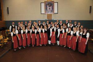 Fotoaufnahme im Anschluss des Musikalischen Nachmittages am 13. November 2016 im Turnsaal der Volksschule Senftenberg.