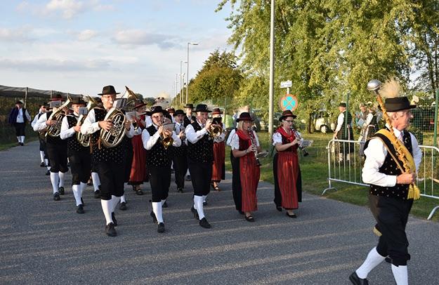 Unsere Klarinettistinnen in der 1. Reihe. Foto: © BAG Krems